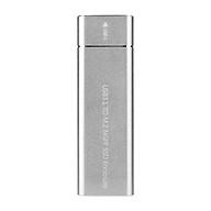 USB 3.1 to M.2 NGFF SSD Enclosure M.2 B Key NGFF SATA for Type C Adapter Case (Silver) thumbnail