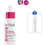 Tinh chất nâng cơ ngừa lão hóa Paula s Choice peptide booster TẶNG mặt nạ Sexylook xịt khoáng Avene (Nhập khẩu) thumbnail