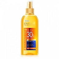 Xịt Chống Nắng Tinh Dầu Hạt Macca SPF30 EVELINE Dry Sun Oil thumbnail