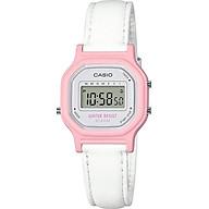 Casio Women s Classic Quartz Watch with Leather-Synthetic Strap, White, 14.8 (Model LA-11WL-4ACF thumbnail