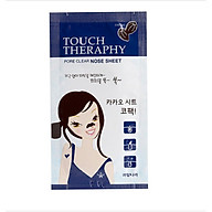 Miê ng da n lô t mu n mu i (hộp 10 gói) Welcos touch therapy cacao pore clear nose sheet pack,1 chiê c go i thumbnail