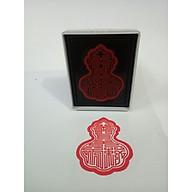 Dấu triện Ngọc Hoàng 7.5cm M1 thấm mực thumbnail