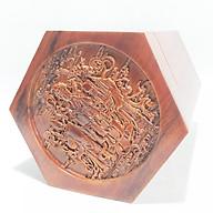 Hộp đựng chè LỤC GIÁC TAM ĐA gỗ hương RAW thumbnail