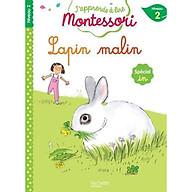 Sách tập đọc tiếng Pháp Montessori niveau 2 - Lapin malin thumbnail