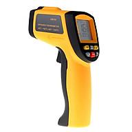 Máy đo nhiệt độ cao cấp dùng trong công nghiệp ( Dải đo -50 C 700 C ) - Tặng 03 nút kẹp cao su giữ dây điện thumbnail