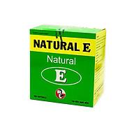 TPCN Hỗ trợ chống oxy hóa, giảm lão hóa da, giúp làm đẹp da Natural E Robinson Pharma USA-Hộp 100 viên thumbnail