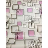 5m giấy decal cuộn ô vuông tím DTL130(45x500cm) thumbnail