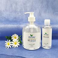 Combo gel rửa tay khô kháng khuẩn 500ml & 100ml hương trà xanh Thương hiệu Joton Hand sanitizer thumbnail