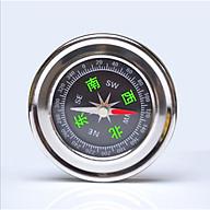 La bàn du lịch chỉ hướng đường kính 60mm ( CHẤT LIỆU THÉP KHÔNG RỈ ) - Tặng kèm 01 đèn pin bóp tay du lịch mini ngẫu nhiên thumbnail