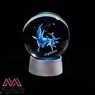 Quả Cầu Pha Lê Capricorn Crystal Ball 3D LED Cung Ma Kết 6cm thumbnail