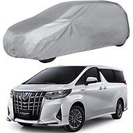 Bạt Phủ xe Ô Tô Toyota Alphard, Bạt Trùm Xe Hơi Chắn Nắng Chất Vải Dù Siêu Bền Chống Mưa Nắng Bảo Vệ xe thumbnail