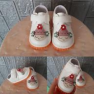 Giày sandal tập đi cho bé gái sơ sinh, đế chống trượt thumbnail