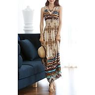 Đầm Maxi Thun Lụa Mềm Mại (Free Size) thumbnail