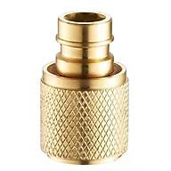 ĐẦU NỐI CHUYỂN ĐỔI NHANH VÒI NƯỚC -1 2INCH Đầu nối ống nước DN15 thumbnail
