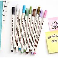Bộ 10 cây bút nhũ vẽ trên ốp lưng, trang trí album ảnh, Scrapbook thumbnail