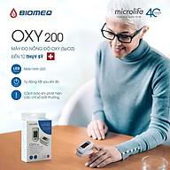Máy Đo Nồng Độ Oxy Và Nhịp Tim Microlife Spo2 Oxy200 thumbnail