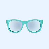 Kính chống tia cực tím có tròng kính phân cực cho bé Babiators The Surfer, Xanh ngọc, Tráng gương xanh, 3-5 tuổi thumbnail
