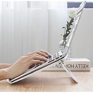 Giá đỡ tản nhiệt cho laptop, macbook, Ipad gấp gọn tiện dụng (màu ngẫu nhiên) - Hàng chính hãng thumbnail