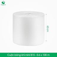 B15 - Khổ 60 cm x 100 (m) - Cuộn Bong Bóng Khí - Màng xốp hơi thumbnail