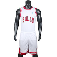 Bộ quần áo bóng rổ Bulls - Trắng thumbnail