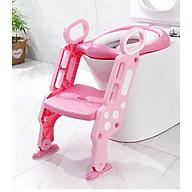 Dụng cụ thu nhỏ bồn cầu có cầu thang cho bé (tặng kèm 1 sản phẩm ngẫu nhiên) thumbnail