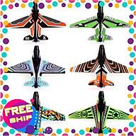 Combo 10 máy bay giấy trong bộ đồ chơi bắn máy bay lên trời thumbnail