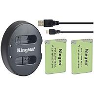 Combo pin sạc Kingma cho Canon NB-12L, Hàng chính hãng thumbnail