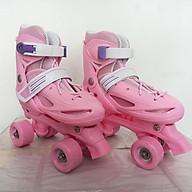 Giày trượt patin BW-21 4 bánh 2 hàng cho trẻ em size 28 - 34 thumbnail