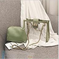 Túi xách nhựa trong suốt thời trang Hàn Quốc thumbnail