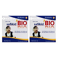 Thực Phẩm Chức Năng Bộ 2 Hộp Cốm Vi Sinh Cho Trẻ Biếng Ăn Safikid Bio Học Viện Quân Y (3g Hộp) thumbnail