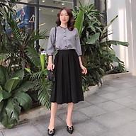 Chân váy xếp ly công sở siêu hot, chân váy dáng dài 2 màu đủ size hàng đẹp thumbnail