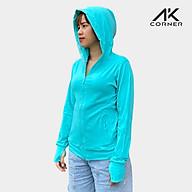 Áo khoác chống nắng nữ AK Corner, 100% Cotton siêu thoáng mát, thấm hút tốt, ngăn chặn tia UV bảo vệ cơ thể thumbnail