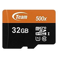 Thẻ Nhớ Micro SDHC Team 32GB 500x Class 10 U1-80MB s (Đen Cam) - Hàng Chính Hãng thumbnail
