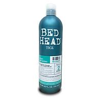 Dầu gội Bed Head Tigi xanh dương số 2 dành cho tóc khô, xơ, rối thumbnail