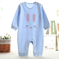 Áo liền quần cho bé cotton thun thoáng mát hình mặt cười đáng yêu 112 thumbnail