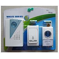 Chuông cửa không dây 2 nút bấm V001AB thumbnail