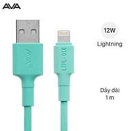 Cáp Light-ning 1m AVA LTPL-01X Xanh - Hàng chính hãng thumbnail