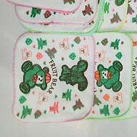 Set 10 khăn tay viền đi học cho bé(20 20cm) thumbnail