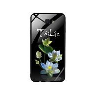 Ốp Lưng Kính Cường Lực cho điện thoại Samsung Galaxy J7 Prime - Lotus 04 thumbnail