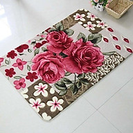 Thảm Lau Chân 3D Họa Tiết Hoa - TH05 (Giao ngẫu nhiên mẫu) thumbnail