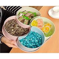 Khay Bánh Kẹo Xuất Nhật 4 Ngăn Size 24.5 cm thumbnail