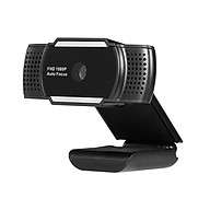 1080P USB Webcam 5MP Auto Focus Web Camera Built-in Sound-absorbing Microphone Drive-free Camera for PC Laptop Black thumbnail