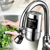 Đầu lọc nước tại vòi 8 lớp lọc cao cấp, van inox, vỏ nhựa ABS không độc hại Easy Way, tặng thêm lõi lọc sơ cua, lắp 99% vòi nước hiện nay thumbnail