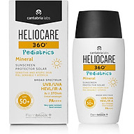 Kem Chống Nắng Dành Cho Trẻ Em Heliocare 360 Pediatrics Mineral SPF 50 (50ml) thumbnail