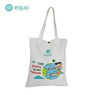 Túi vải EQUO thiết kế The Earth is my friend sử dụng được nhiều lần size 630 350 thumbnail