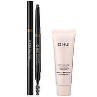 Combo Chì kẻ mày OHUI Real Color Eyebrow Pencil và Sữa rửa mặt OHUI Miracle Cleansing Foam 40ml thumbnail