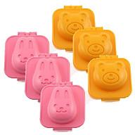 Khuôn Làm Cơm Bento Hình Gấu Và Thỏ - Nội Địa Nhật Bản thumbnail