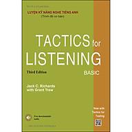 Luyện Kỹ Năng Nghe Tiếng Anh (Trình Độ Cơ Bản) -Tactics For Listening Basic thumbnail