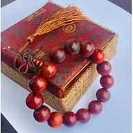 Set Vòng đeo tay Gỗ Sưa đỏ tự nhiên, kèm hộp đựng lót lụa thumbnail