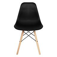 Ghế bàn ăn Eames chân gỗ thumbnail